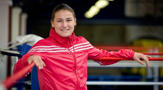 New chapter: Katie Taylor will make her professional debut at Wembley Arena