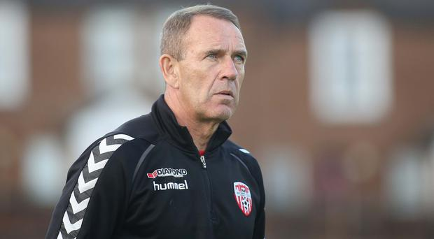 Target: Kenny Shiels aims to end campaign with a victory