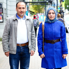 Ali Soda and his wife Hasnaa Ramadan