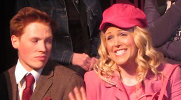 Andrew Smyth in amateur productions of shows including Legally Blonde