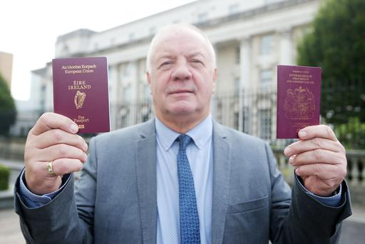 Raymond McCourt revealed he applied for an Irish passport following the Brexit result. Picture by Jonathan Porter/Press Eye