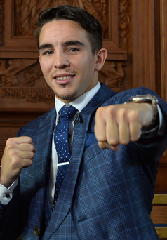 Punch line: Michael Conlan is dreaming of a Casement Park bout