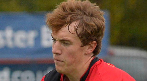 Jake Rowe scored twice for Banbridge Academy