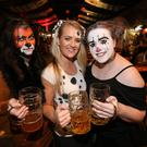 People out over Halloween weekend at Oktoberfest. Saturday 29th October 2016. Liam McBurney/RAZORPIX
