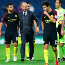 Back in: Pep Guardiola will start Sergio Aguero against Barca
