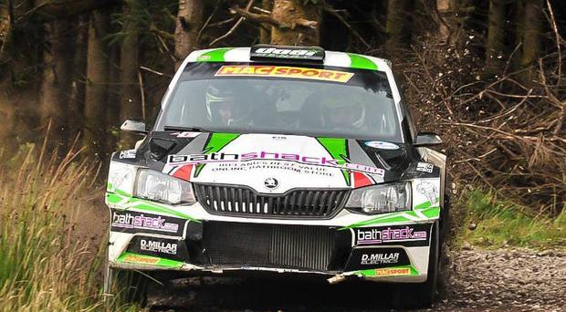 Speedy Skoda: Desi Henry has the Irish forest title in his sights