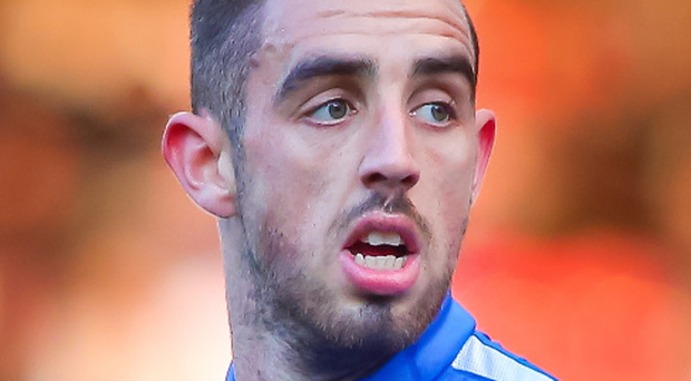 Back home: Joe Gormley was struggling in full-time football