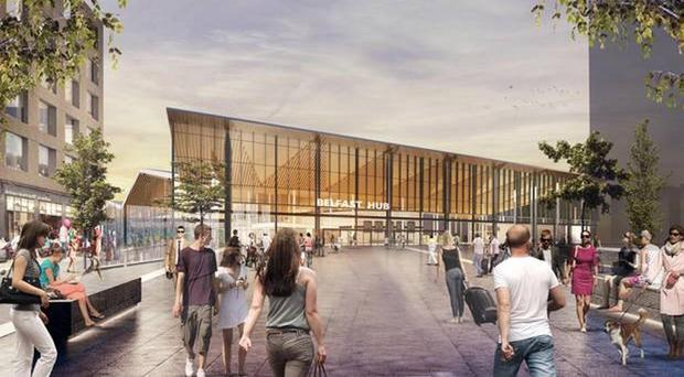 An artist's impression of the new hub