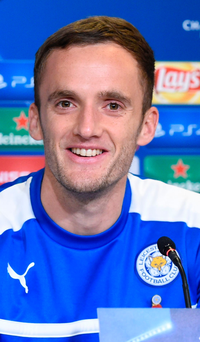 Leicester City midfielder Andy King