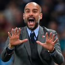 Demands met: Pep Guardiola masterminded Man City's victory