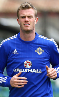 Back in the picture: Chris Brunt