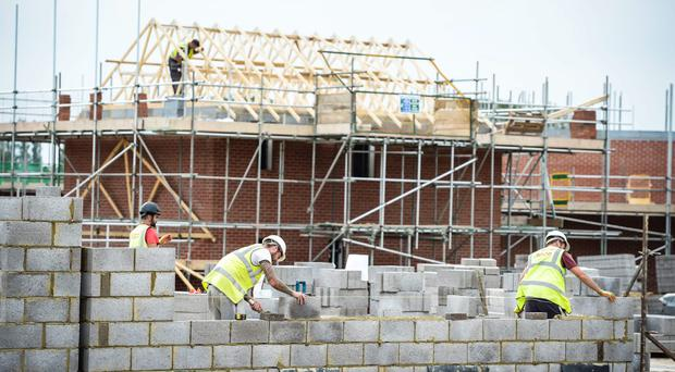 More than 750 homes were built