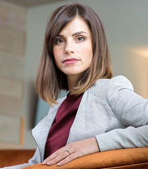 Rising star: Charlotte Riley appears in Close To The Enemy, which starts next week
