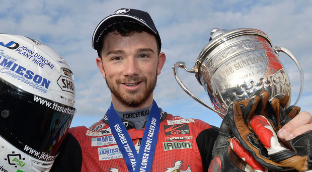 Prize guy: Glenn Irwin has clinching his British Superbike spot for next season