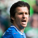 Another chance: Joey Barton is staying with Rangers