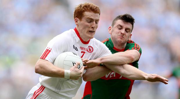 Key role: Peter Harte can continue to wield a huge influence within the Tyrone side next year as they pursue a loftier goal
