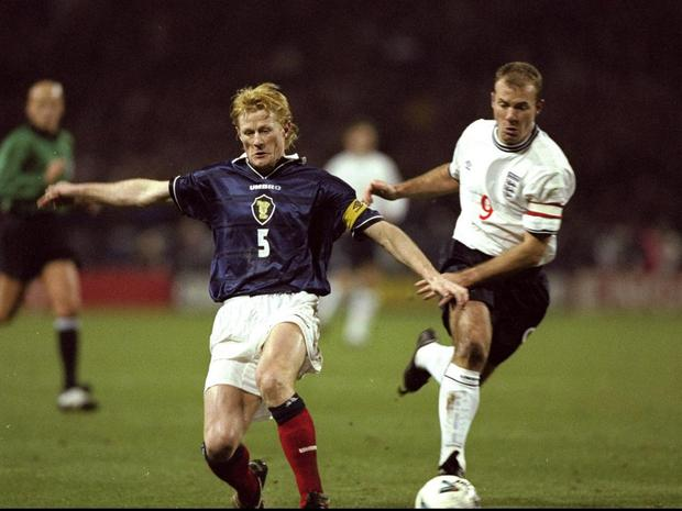 Armistice meeting: There were no poppies on players' shirts when Scotland and England met in November 1999
