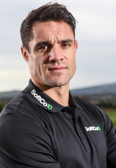 Candid: Former All Black Dan Carter admits there is pressure to maintain New Zealand's unbeaten record against Ireland