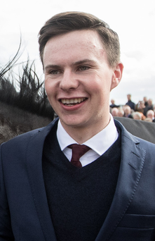 Big chance: Joseph O'Brien is hoping for glory in States