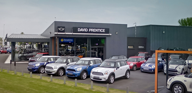 The Prentice business now runs just one car dealership, in Portadown