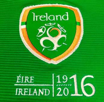 The Republic of Ireland marked the centenary of the Easter Rising during Switzerland friendly.