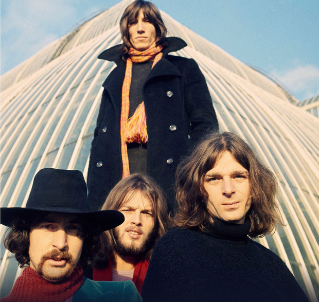Career lift-off: Pink Floyd's popularity went into orbit with the release of Dark Side of the Moon in 1973