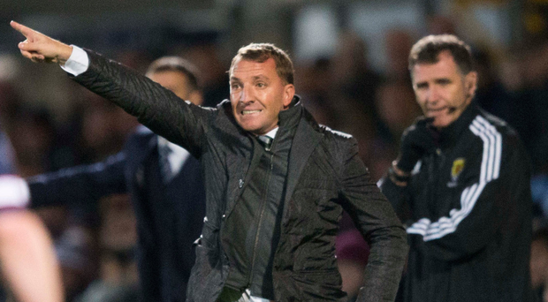 Sore point: Brendan Rodgers says dropping points because of a late Inverness equaliser in September still rankles with him