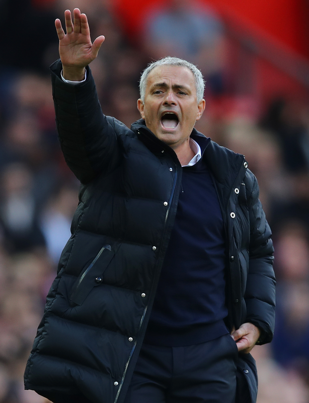 Step up: Jose Mourinho wants his players to rise to the challenge and deliver
