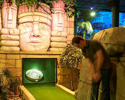 The Lost City Golf centre in Nottingham. The second outlet is due to open in Belfast early next year