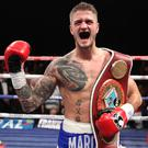Back with a bang: Marc McCullough wins the WBO inter-continental title