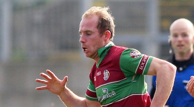 Main man: Sean Leo McGoldrick scored a total of 11 points for Eoghan Rua in their comprehensive victory over Bredagh