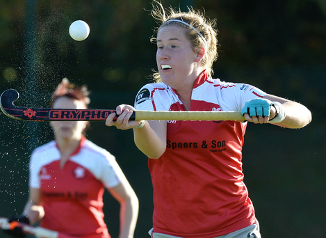 Red-hot: Hannah Grieve hit a last-gasp leveller for Pegasus