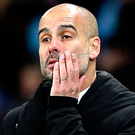 Dropped points: Pep Guardiola