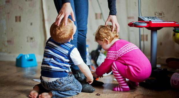 Almost one in four children lives in poverty in Northern Ireland, a new report has revealed. File image