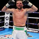 Climbing the ladder: Conrad Cummings can break into the top 15 in the IBF World rankings at Wembley Arena