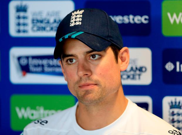 Grounded: Alastair Cook is taking nothing for granted