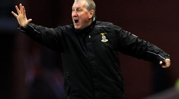 Passion: Terry Butcher wants England to show more desire