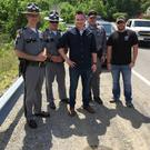 Declan with Kentucky State Police