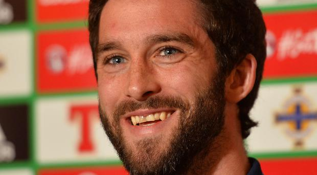 Smiles better: Will Grigg is hoping to impress