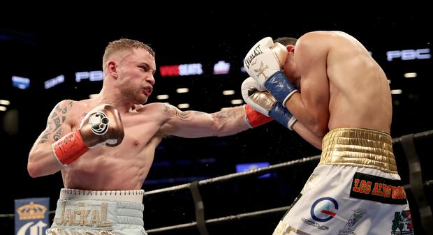 Carl Frampton becomes World champion