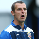 Raising standards: Coleraine manager Oran Kearney
