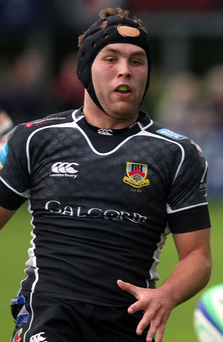 Heading west: Mark Best is part of a strong Ballymena side at Galwegians