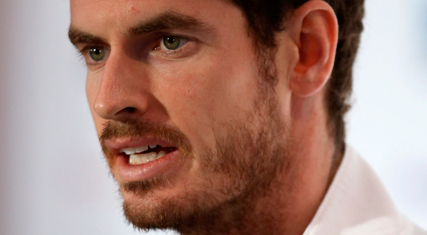 King of the court: Andy Murray now heads the world rankings