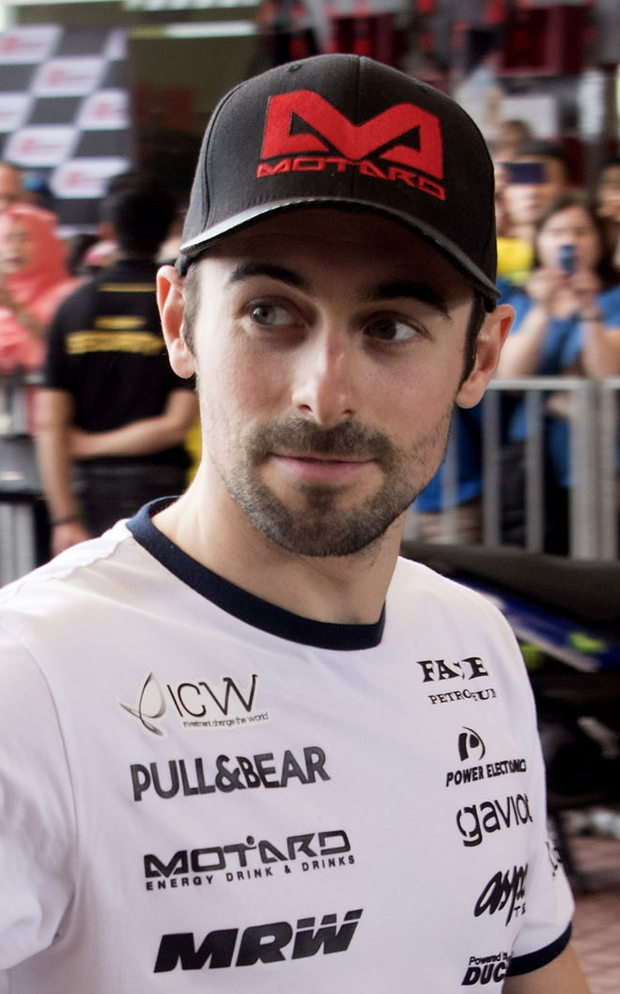 Well placed: Eugene Laverty