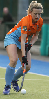 On the move: Rebecca Weir launches an Ards attack against Quins