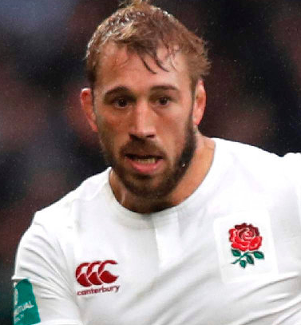 Captain's role: Chris Robshaw ended his poor run against South Africa