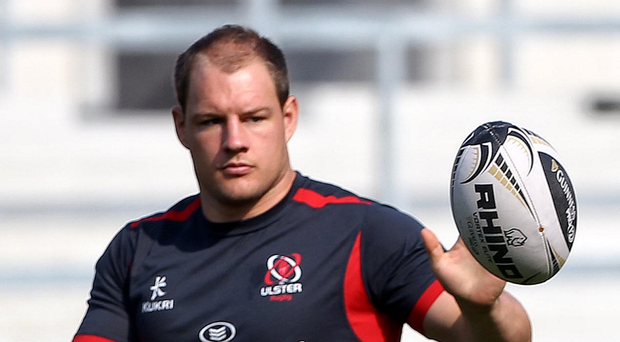 Wise head: Former Ulster prop Bronson Ross is with Queen's