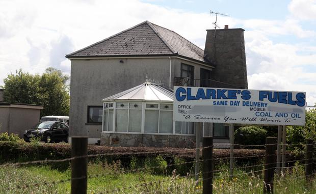 Clarke's Fuels on the Dundrod Road.