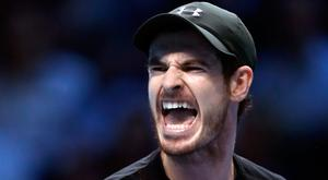 I feel good: Andy Murray after beating Marin Cilic in the ATP World Tour Finals at the O2 Arena in London last night