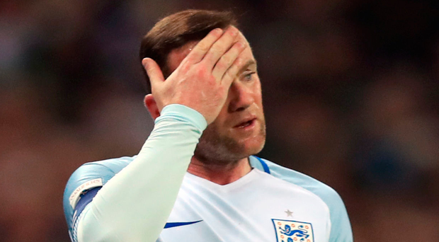 Club call: Wayne Rooney has departed the England camp
